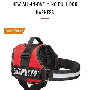Easy on off no pull dog harness New